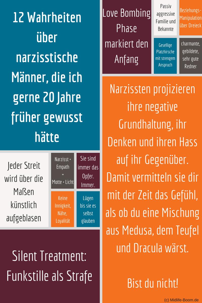 Narzissmus: 10 Anzeichen dafür, dass man einen Narzissten datet   withering-trees.de