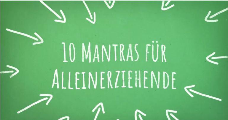 10 Mantras für alleinerziehende Mütter