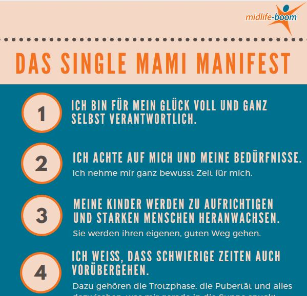 Single Mami Manifest Ausschnitt Midlife-Boom